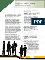 Principles of Public Outreach
