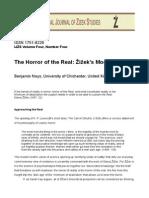Zizek's Modern Gothic