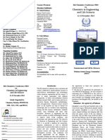 Brochure 6th Chemistry Conference 9 June 2014