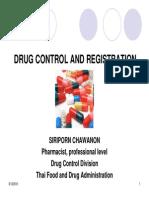 Drug Registration Thailand