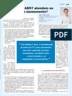 Revista Dae Ed 185 Jorge Moll Normas Abnt Setor Saneamento