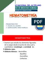 06.HEMATOMETRÍA (SEMINARIO)