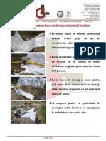 Ghid Rapid de Montare Teava de Drenaj Cu Geotextil - Gl Geosintex v.1.0