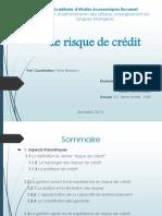 Le Risque de Crédit