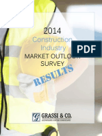 2014 Construction  Industry  Market Outlook  Survey Results