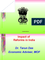 Impact of Reforms in India-Lecture 2 by Tarun Das