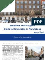 Sandfords Marylebone Guide to Downsizing