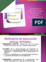 Educacion Sexual Integral
