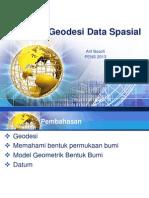 M05. Konsep Geodesi Data Spasial