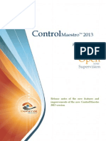 ControlMaestro2013 ReleaseNotes En