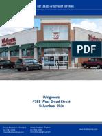 Single Tenant Walgreens for Sale
