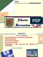 07Civil - Da Prescrição e Da Decadência - ALBERTO Fernandes