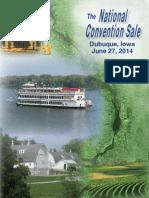 Sale Catalog - 2014 National Convention Sale