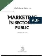 Kotler Lee Marketing in Sectorul Public Cap 3 10