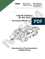 Manual Caja Cambio ZF 16S 1650 EUROTECH