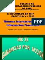 Casos Prácticos - NIC 33 Utilidad Por Acción-2da