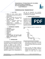 Practica 4 Caracteristicas Del Transistor Bjt