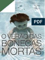 O Verão Das Bonecas Mortas - Toni Hill