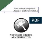 7 - Noções de Direito Administrativo - tecnico adm
