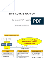 Sm-II Course Wrap Up