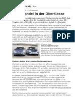 CO₂-Emissionen - Klimawandel in der Oberklasse - Süddeutsche