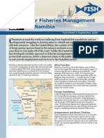 Fair Fisheries Management in Namibia