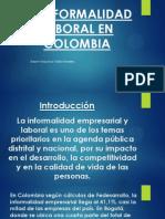 La Informalidad Laboral en Colombia
