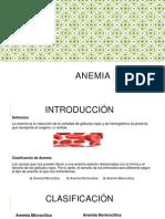Exposicion Anemia