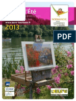 Programme Eure Ete 2013