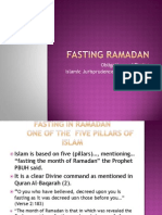 Series 2 Class 1. Fasting Ramadan