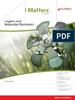 Organic and molecular electronic