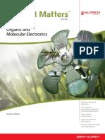 Organic and molecular electronic