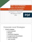 Corporate- Level Strategies
