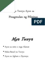 33652814 Pinagmulan Ng Pilipinas