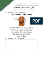 Comprension Lectora Letra D