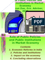 Role of Public Policies and Institutions for Growth and Development by Tarun Das