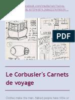 Le Corbusier's Carnets de voyage