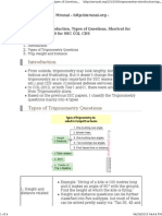 trignometry