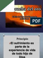 La Prueba Del Oro IBE Callao