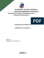 TG- Plano Inicial de Trabalho Modelo 2014 (1)