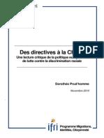 Des Directives à la Charte