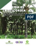 OXFAM La Palma de La Discordia