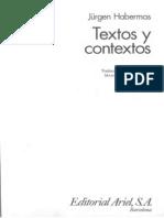 60110790 Habermas Jurgen Textos y Contextos OCR