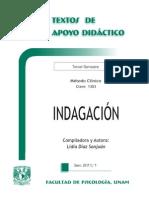 2014 Indagación - Lidia Diaz- Www.psicologia.unam.Mx
