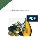 Uleiul de Măsline CA Tratament Pentru Păr