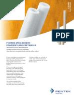 Filtro Cartucho P Series Product Profile 310060