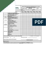Anexo No. 40 Formato Para Inspección Preoperacional de Manlift