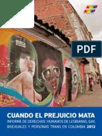 Informe DDHH Lgbt 2012 Colombia Diversa