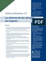 No13 Carceles Mujeres