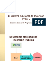 Normatividad Del SNIP Diplomado